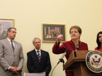 Rep. Marcy Kaptur introducing her Glass-Steagall bill in the last Congress.