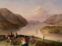 West Point, New York  Painting by Seth Eastmen, 1875 (wiki)