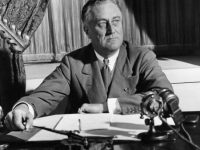 Franklin Roosevelt Addresses the Nation on Banking Crisis in March, 1933