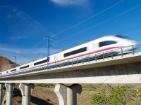 A Chinese highspeed train--the U.S. can do the same.