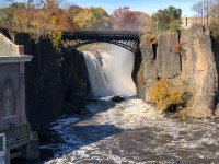 Hamilton's grand industrial project at Passaic Falls, New Jersey was part of his broad economic vision. (Leonard A. Zax)