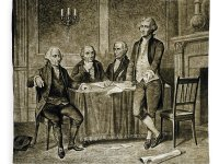 Leaders of the First Continental Congress, which vowed to stop the slave trade.