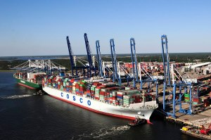 Charleston harbor, one of the few projects funded to completion in the 2020 budget.