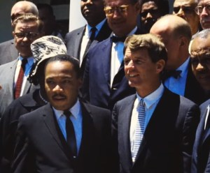 Martin Luther King and Robert Kennedy