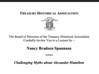 Spannaus Address to Treasury Now Viewable