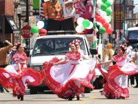 Cinco de Mayo parade in Chicago, 2013.