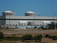 South Africa's nuclear plant, the only one on the continent so far.