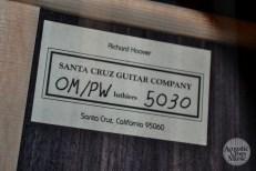 Santa Cruz Guitar Alpine Moon Spruce Kathryn Butler 7