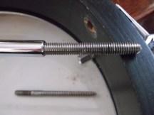 banjo missing hanger bolt