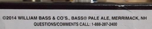 bass ale merrimack nh bottom