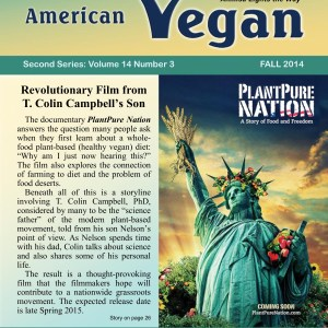 American Vegan Fall 2014 Cover Photo