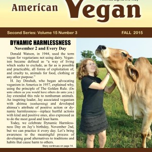 American Vegan Fall 2015 Cover Photo
