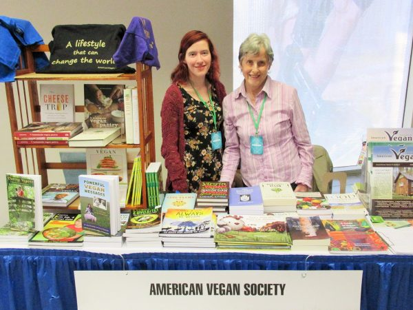 Sarah and Freya American Vegan Society
