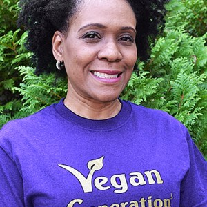 American Vegan Socitey Vegan Generation^3 Purple Shirt