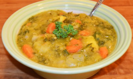 Dan's No-Ham Split Pea Soup Recipe