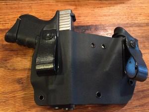 Glock 26 in Werkz AIWB Bisect Holster.