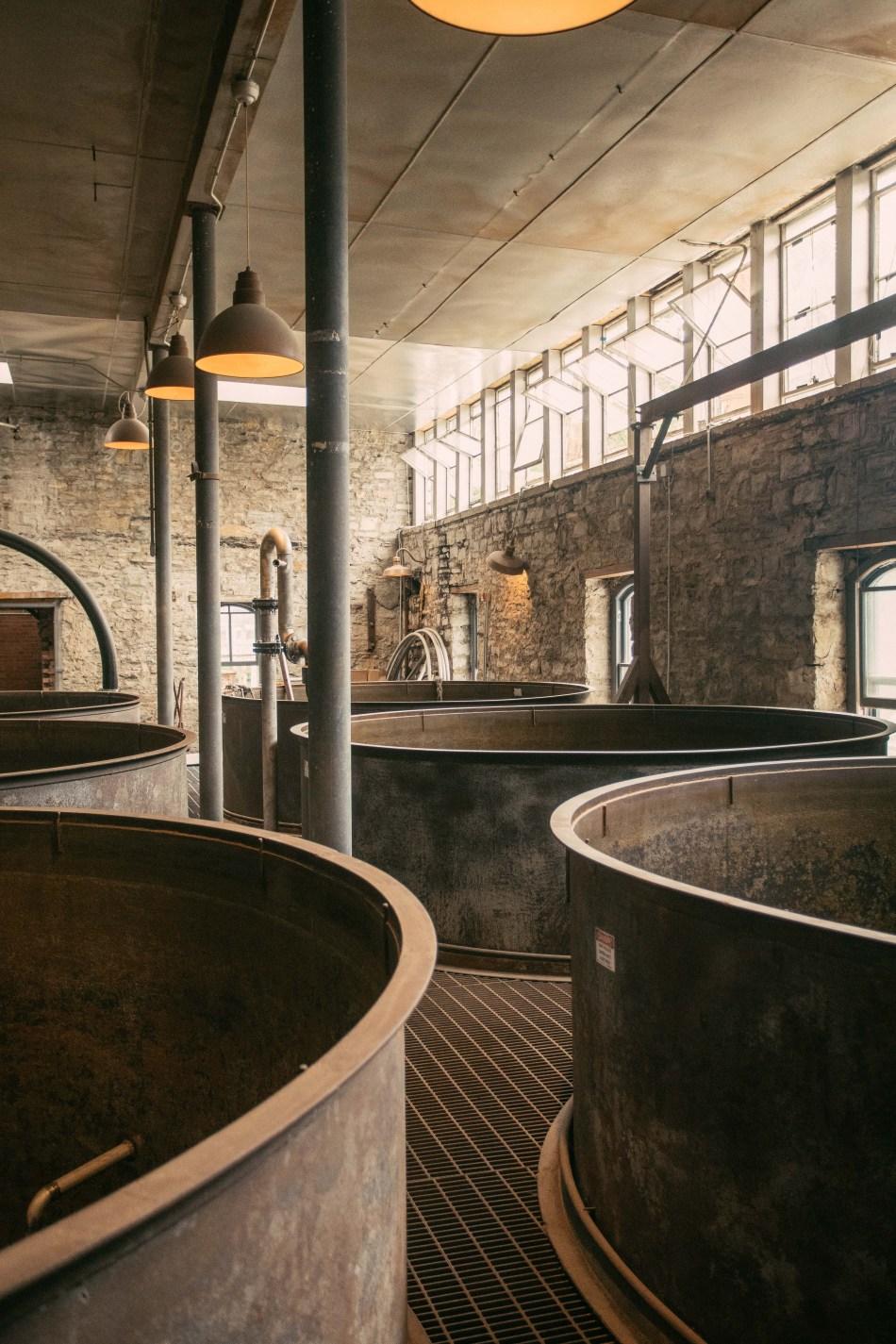 CastleAndKey Fermentation Tanks