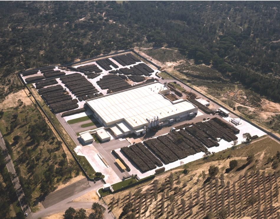 Amorim Cork Processing plant south of Portugal.jpg