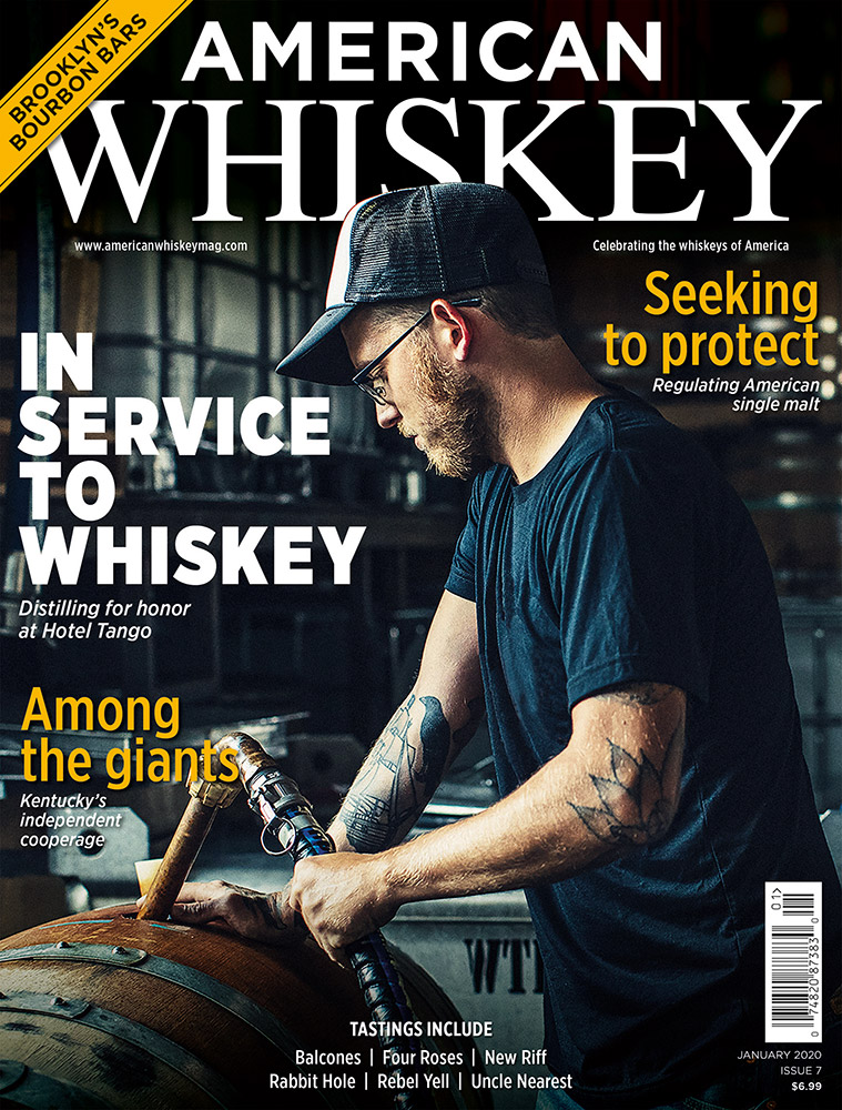 American Whiskey – Issue 7 cover