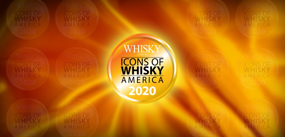 Icons of Whisky America 2020 logo header