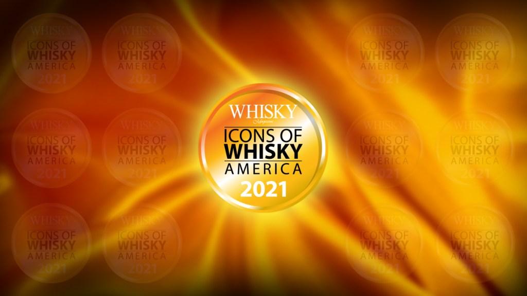 Icons of Whisky America 2021 logo header