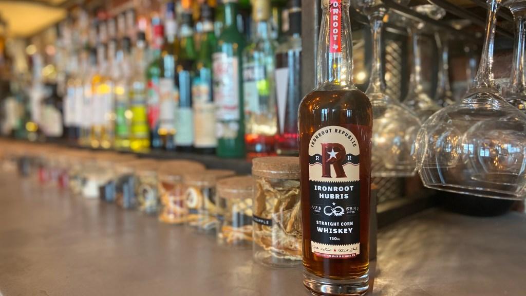 Ironroot Republic's corn whiskey