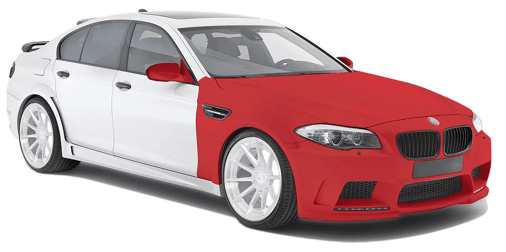 Paint Protection Film coverage level 3
