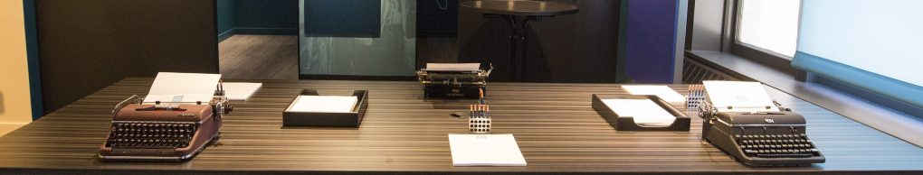 Typewriters at the American Writers Museum