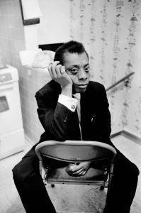 Photo of James Baldwin. Courtesy of Arty Shay Archives