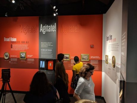 Frederick Douglass: Agitator, a special exhibit at the American Writers Museum