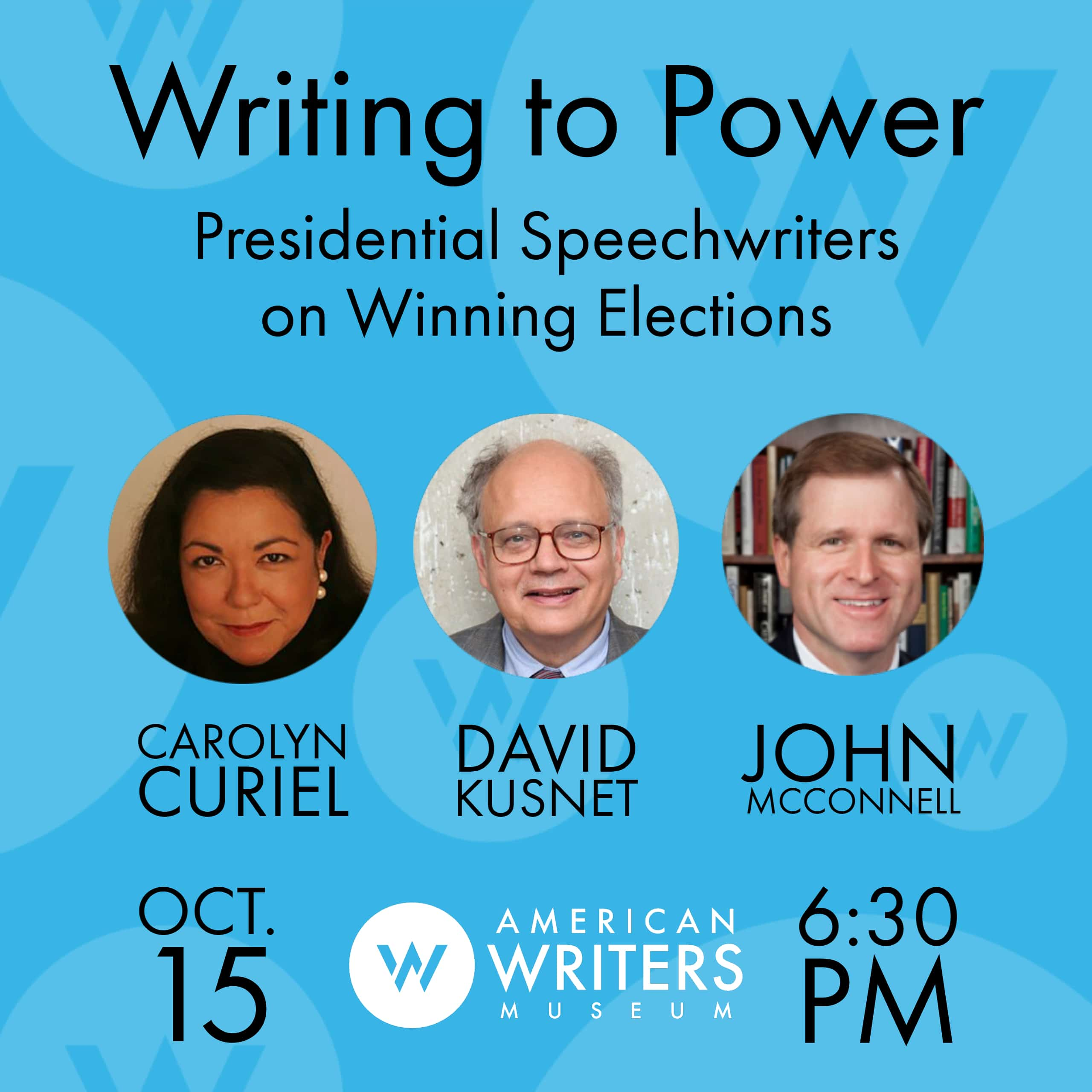 Presidential speechwriters discuss writing to win elections