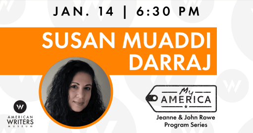 Susan Muaddi Darraj presents and discusses her writing and life at the American Writers Museum