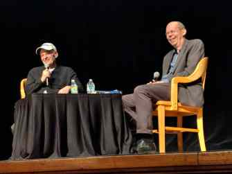 The American Writers Museum presented Tim O'Brien in conversation with Alex Kotlowitz at the Chicago Public Library