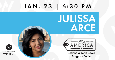 Julissa Arce appears at the American Writers Museum on January 23, 2020