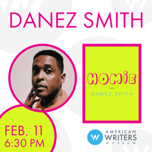 """Danez Smith presents their new poetry collection """"Homie"""" at the American Writers Museum on February 11"""