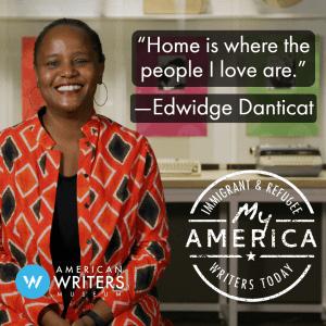 Edwidge Danticat featured in the American Writers Museum's new exhibit My America