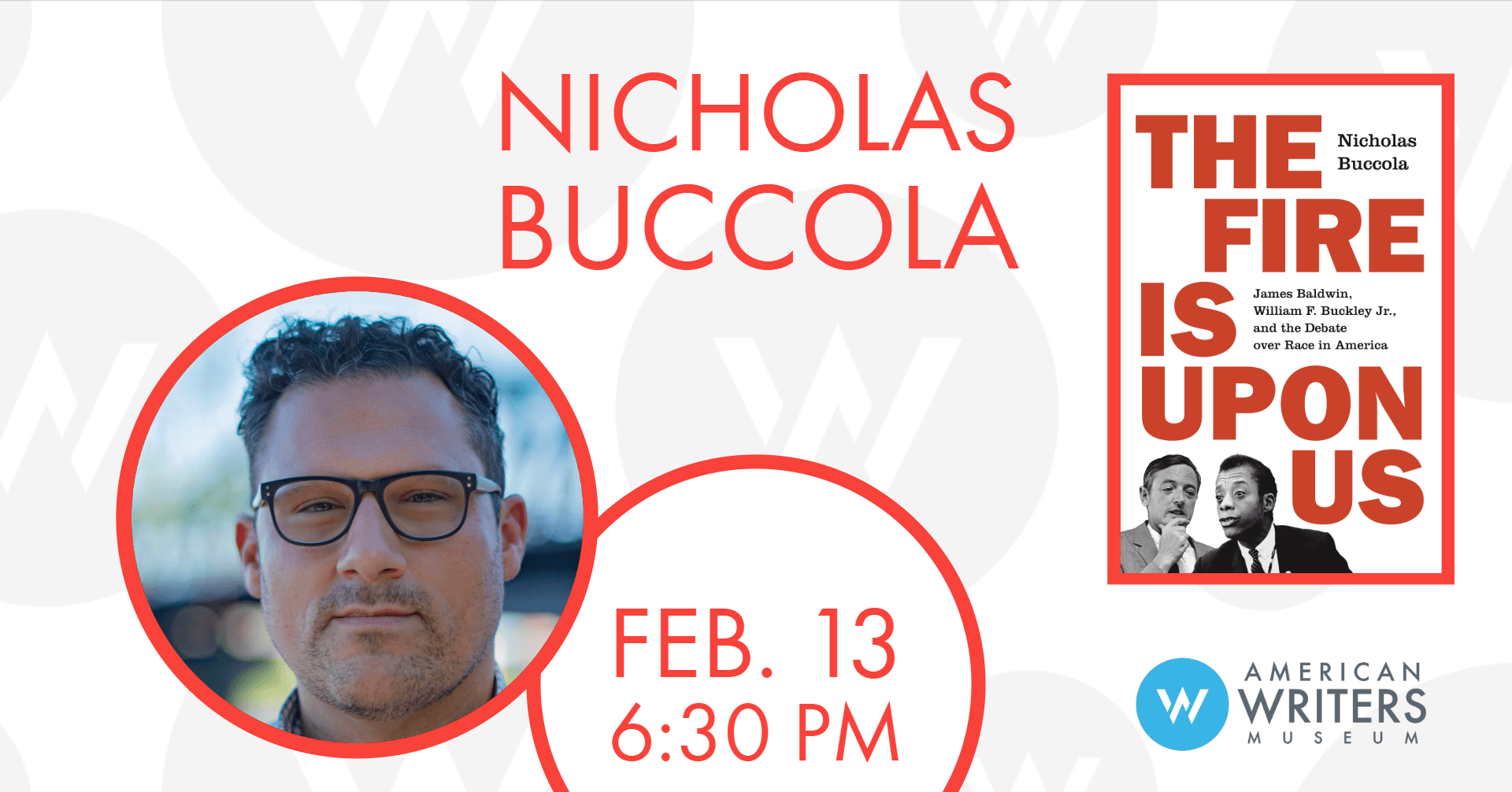 Nicholas Buccola: The Fire Is Upon Us | Reading & Signing