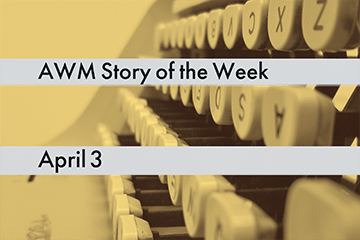 American Writers Museum Story of the Week for April 3, 2020