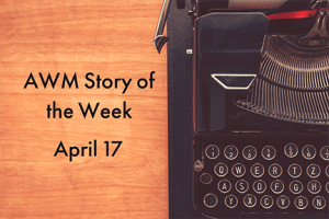 American Writers Museum Story of the Week for April 17, 2020