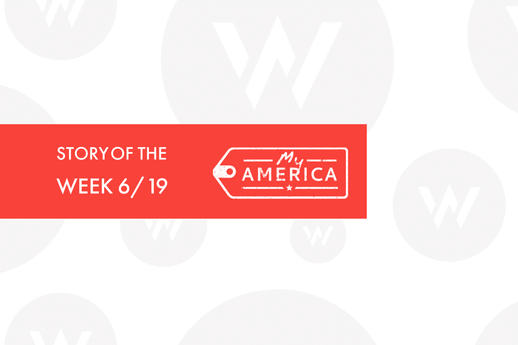 Story of the Week, a blog series highlighting visitor stories from the American Writers Museum, for June 19, 2020