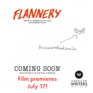 """Stream the new documentary film """"Flannery"""" a lyrical, intimate exploration of the life and work of the hugely influential writer Flannery O'Connor."""