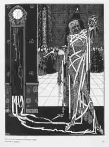 From Tales of Mystery and Imagination; Illustrated by Harry Clarke