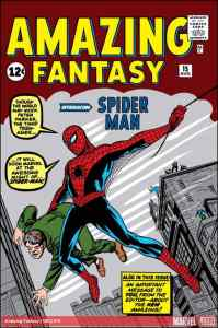 Amazing Fantasy #15 (Published August 10, 1962). Spiderman