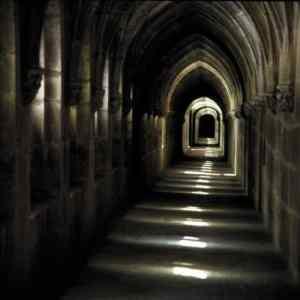 Enjoy the amazing architecture of Prince Prospero's abbey