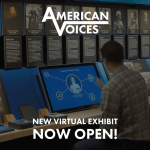 American Voices. New virtual exhibit from the American Writers Museum now open!