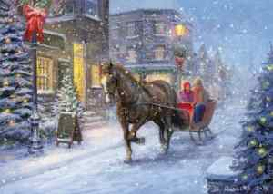 An artist rendition of what your romantic sleigh ride could look like (JD Rogers)