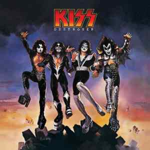 "Photo of ""Destroyer"" album cover by KISS"