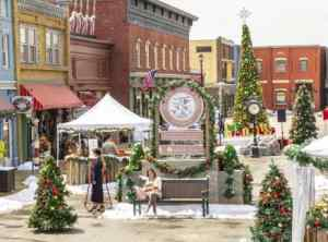 It's always holiday season in That Town in a Hallmark Movie!