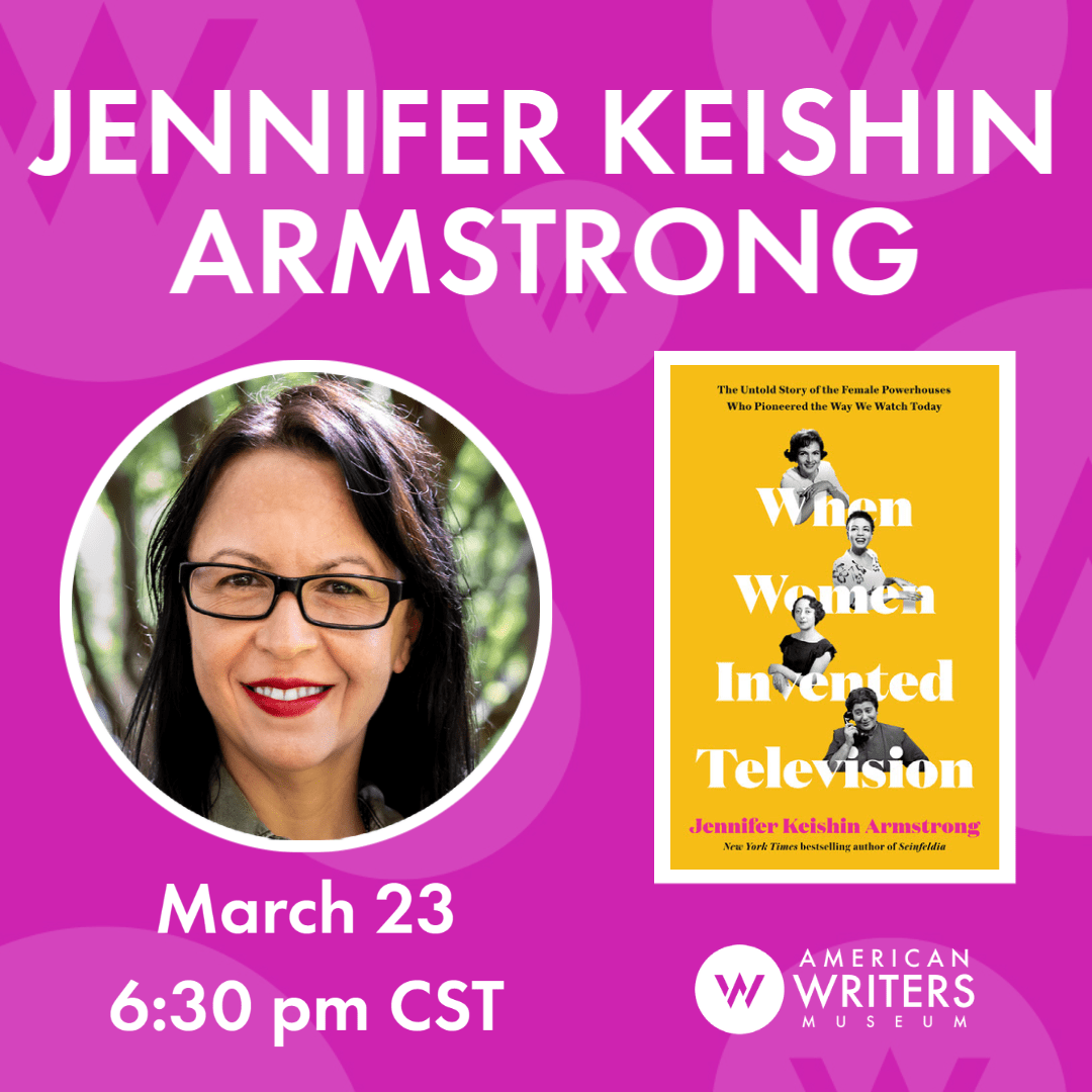 Jennifer Keishin Armstrong: When Women Invented Television | Virtual Author Talks