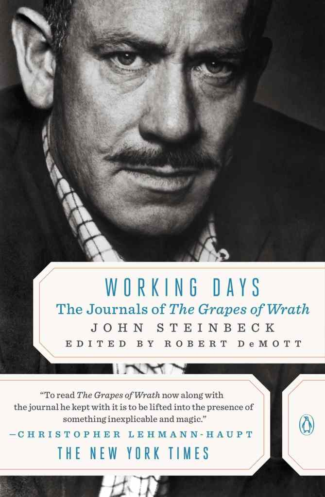 Working Days: The Journals of The Grapes of Wrath by John Steinbeck book cover